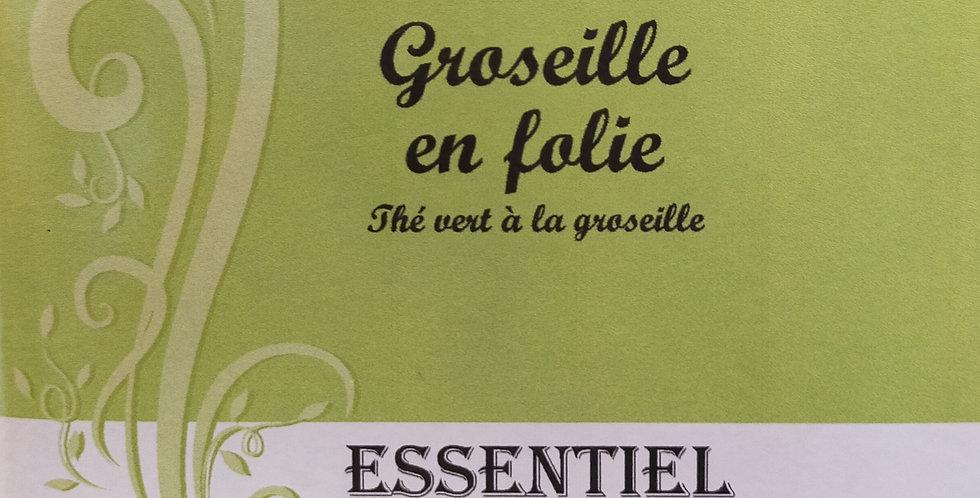 """Thé Vert """"Groseille en folie"""""""
