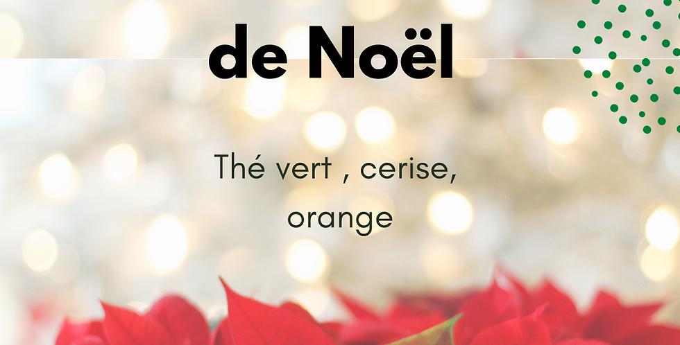 """Thé Vert """"Griotte de Noël"""""""