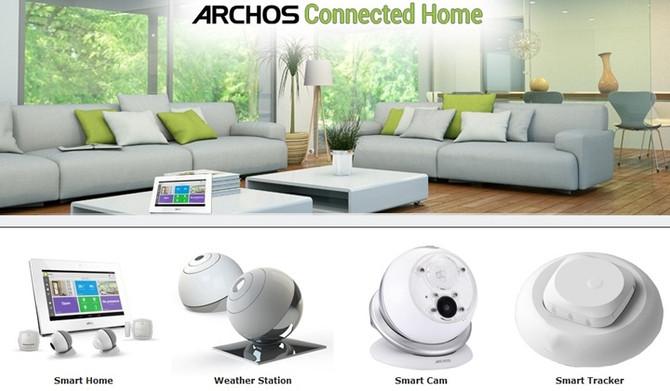 Концепция «Умного дома» Archos Smart Home: без проводов, но с нюансами.