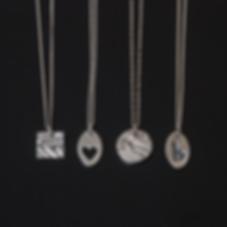 Silver clay pendant jewellery school sco