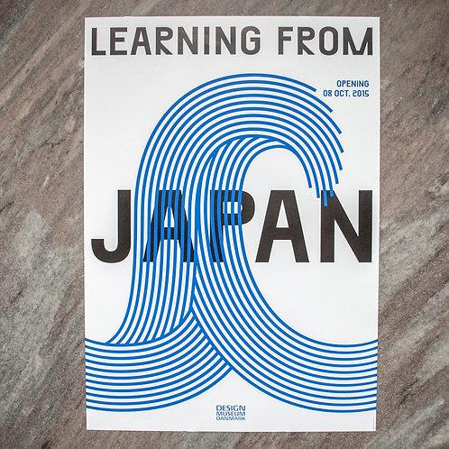 Learning from Japan plakat, Designmuseum Danmark