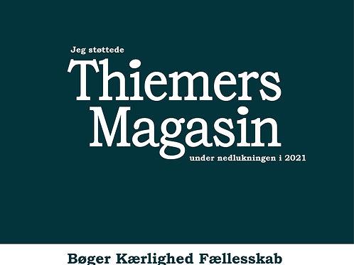 Mulepose. Jeg støttede Thiemers Magasin under nedlukningen i 2021