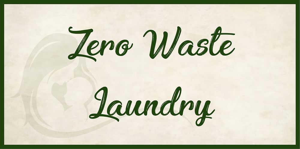 Sustainable laundry