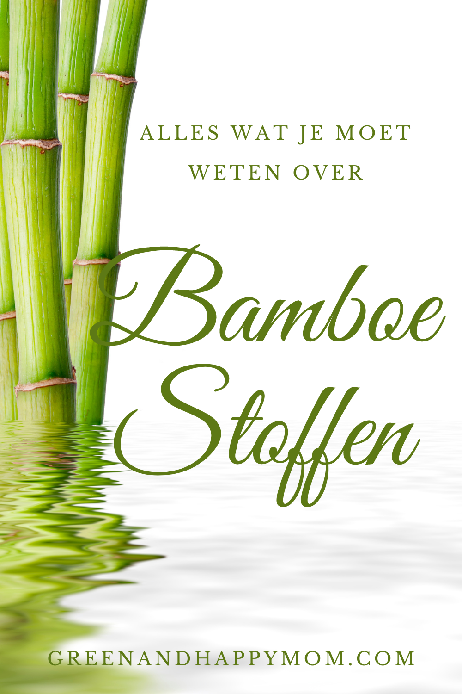 Duurzame bamboe stoffen