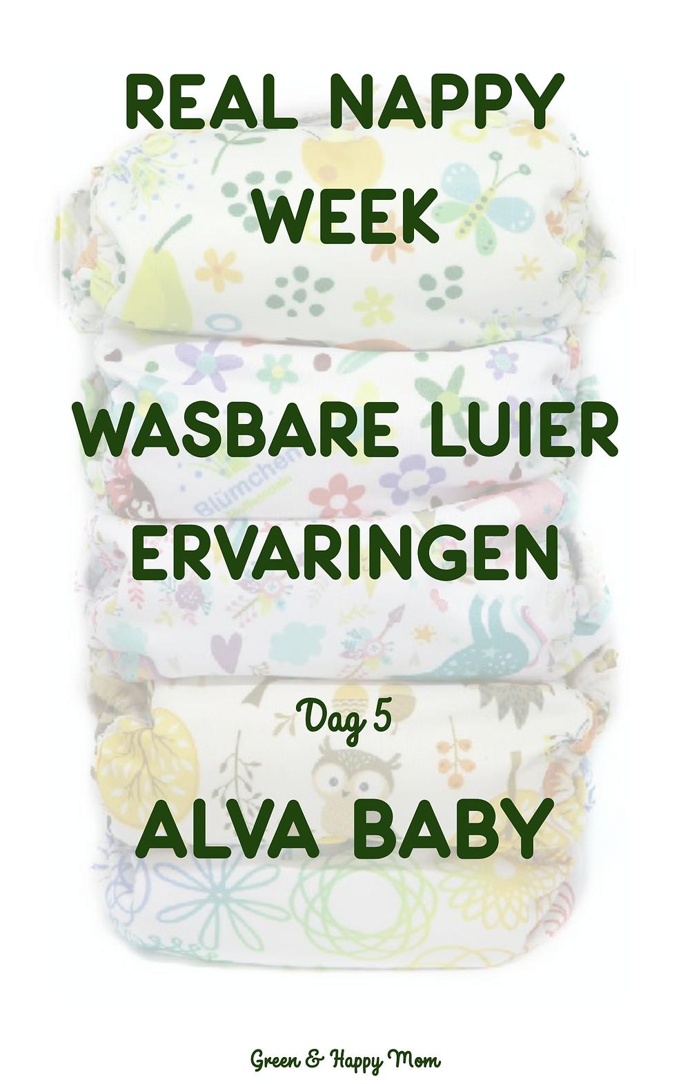 Wasbare Luier ervaring - Alva Baby