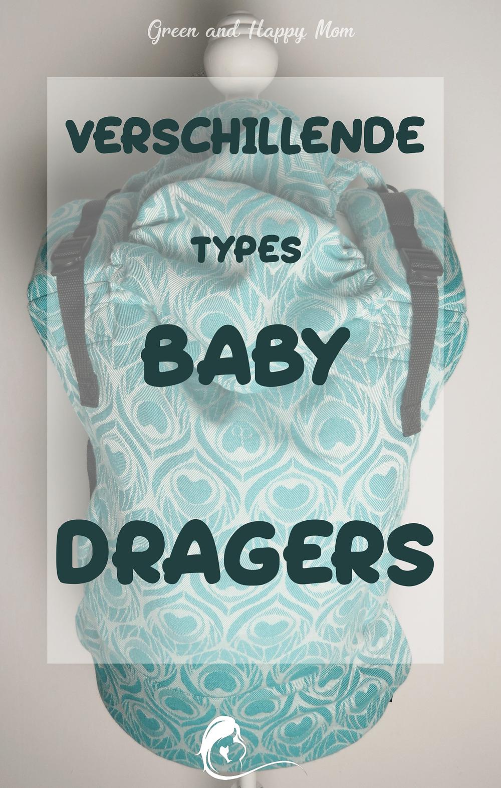 Verschillende types Baby Dragers