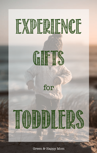 experience gifts toddlers
