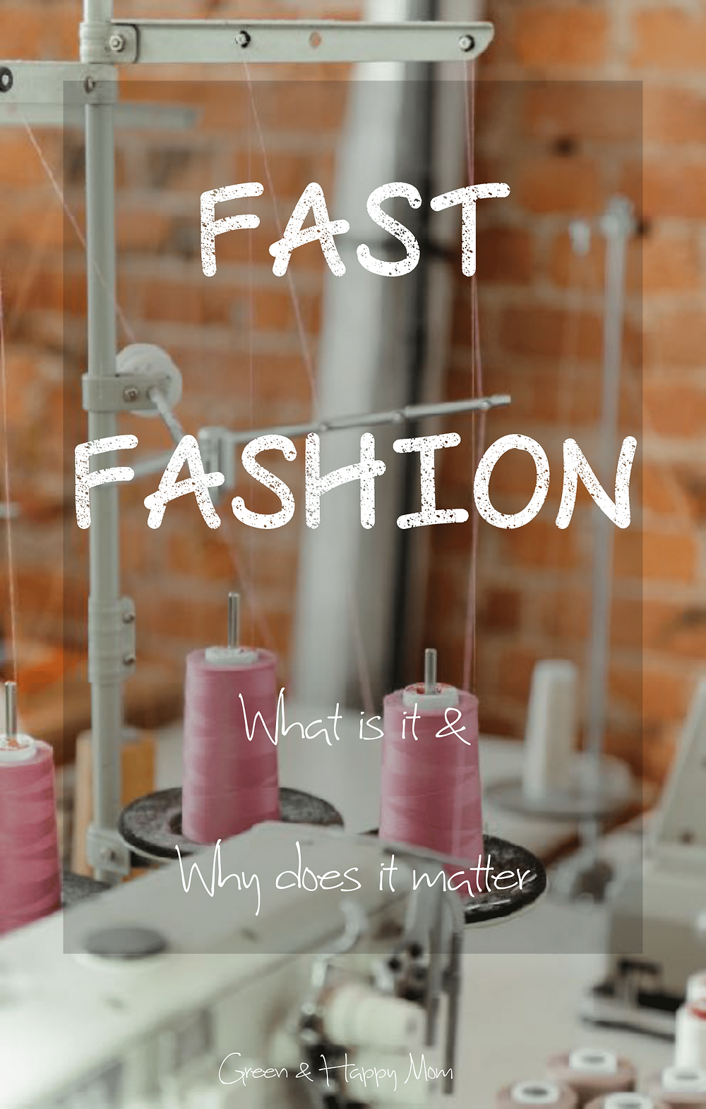 Fast Fashion: What is it and why does it matter