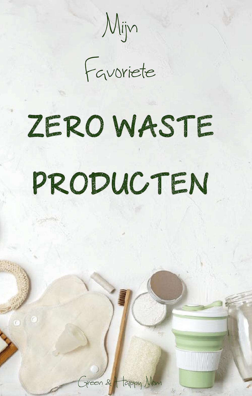mijn favoriete zero waste producten