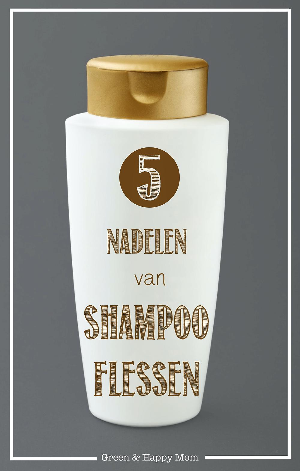 Nadelen van shampoo flessen
