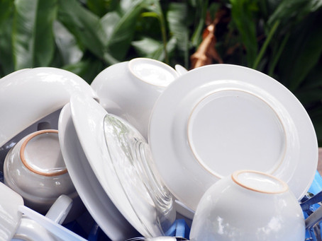 4 tips for Eco-friendly Dishwashing