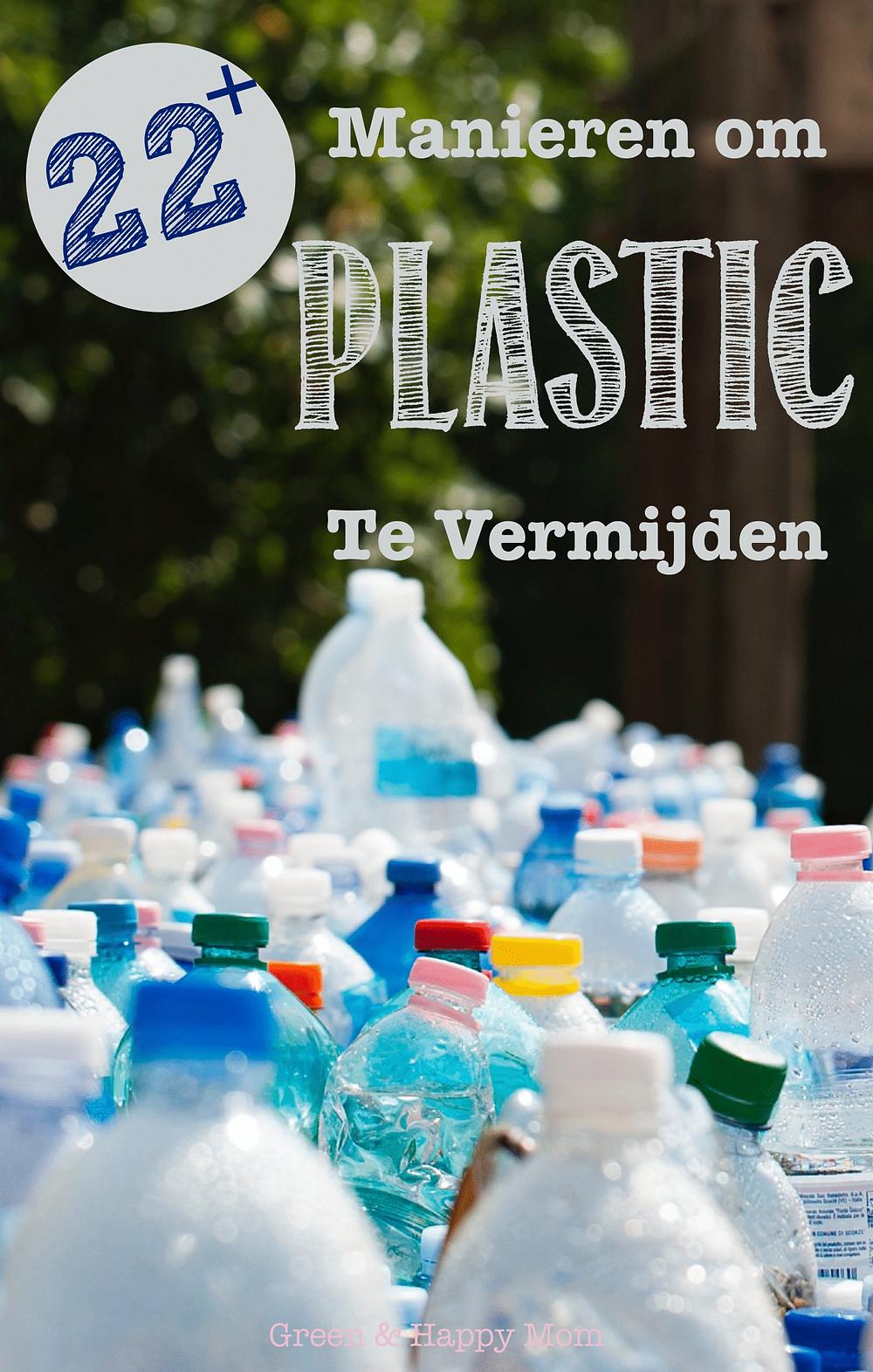 manier om plastic te vermijden
