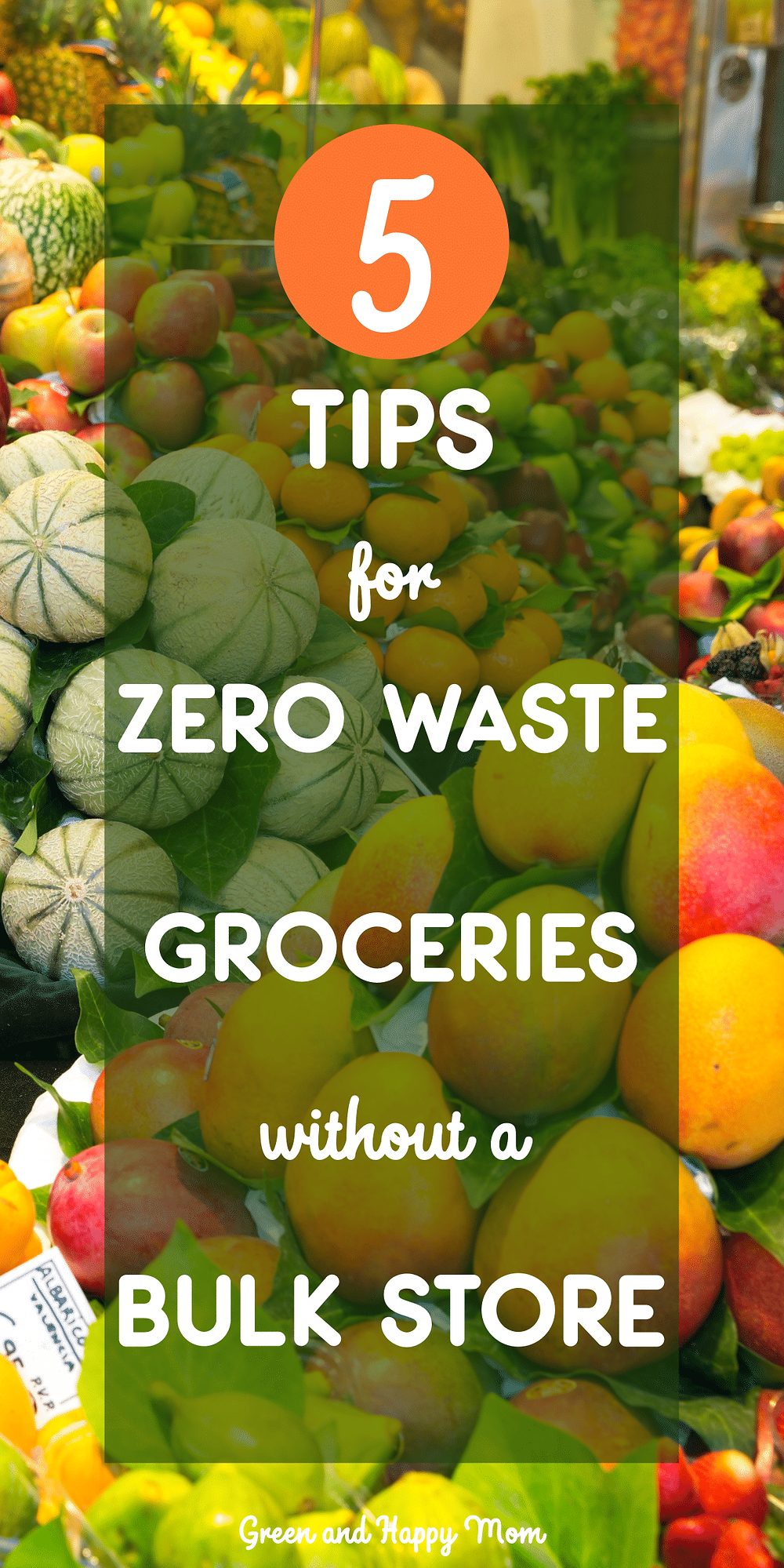 zero waste grocery shopping