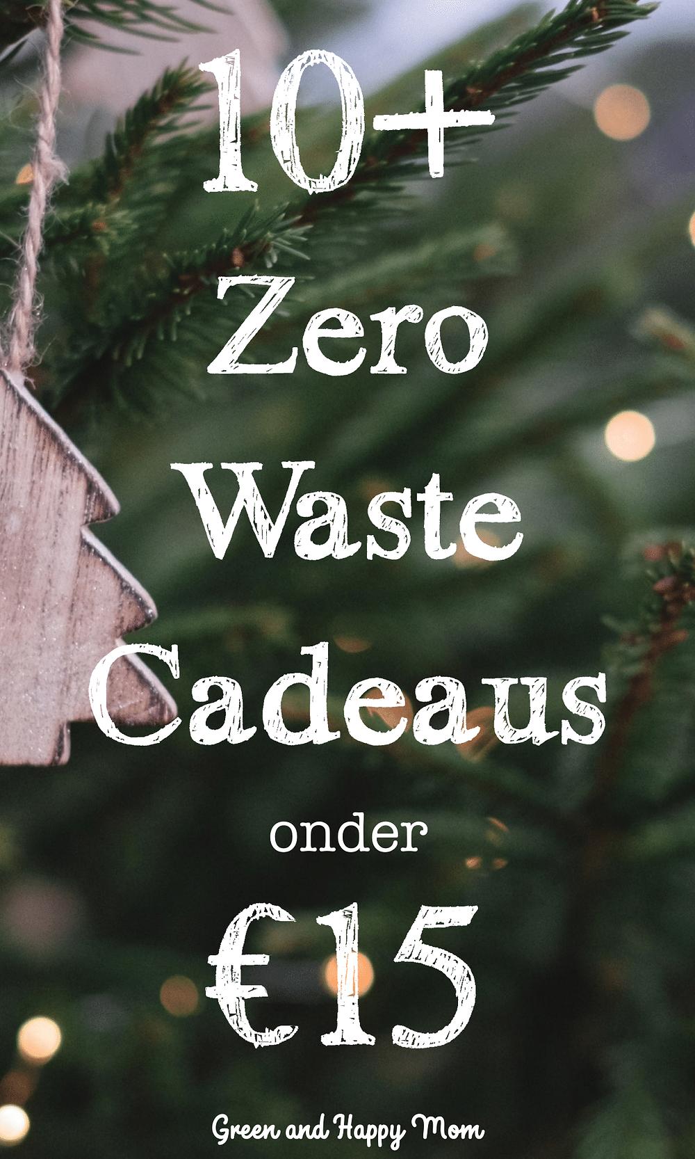 Duurzame Kerstcadeaus onder de €15