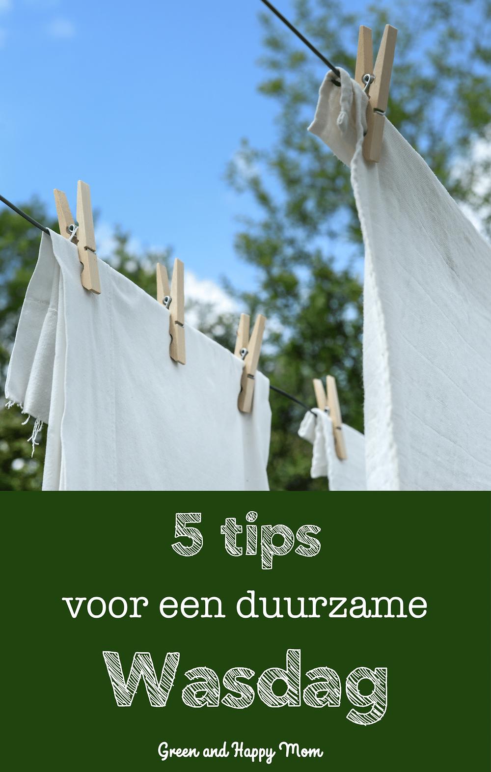 5 Tips voor Duurzaam Kleding Wassen
