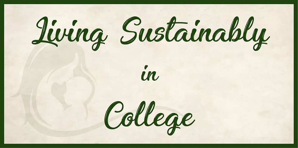 Living Sustainable in College