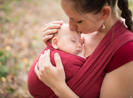 Voordelen van Baby Dragen