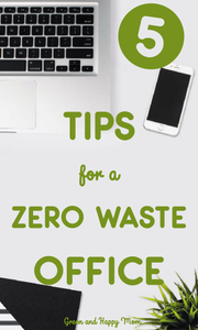 5 tips for a zero waste office
