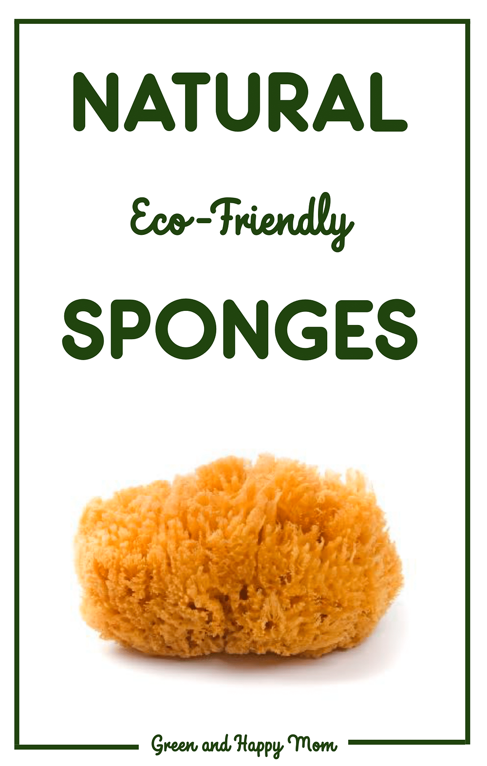 Natural sponges