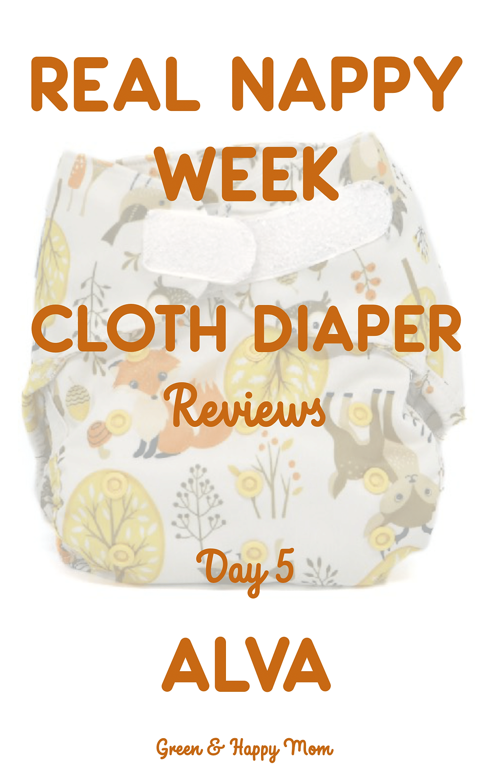 Alva Baby Cloth Diaper review