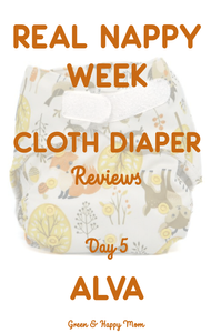 Alva Baby Cloth Diaper review