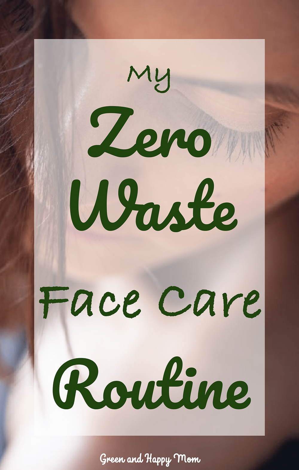 zero waste face care