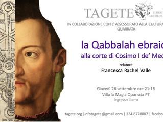 La Cabala ebraica alla corte di Cosimo I de' Medici