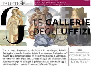 Galleria degli Uffizi – i nuovi allestimenti