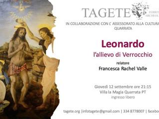Leonardo, l'allievo del Verrocchio