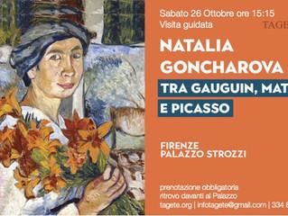 Natalia Goncharova. Una donna e le avanguardie, tra Gauguin, Matisse e Picasso.