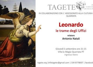 Leonardo e le trame degli Uffizi