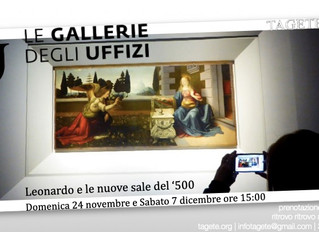 Uffizi: Leonardo e le nuove sale del '500