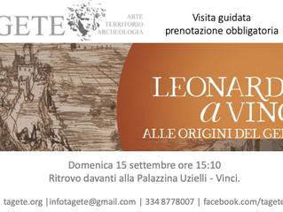Leonardo a Vinci, le origini del genio