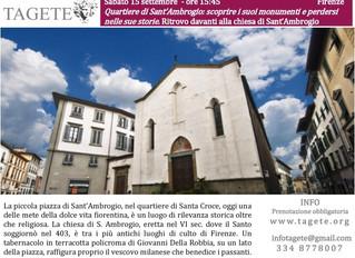 Firenze insolita: il quartiere di Sant'Ambrogio
