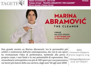 MARINA ABRAMOVIĆ. THE CLEANER Palazzo Strozzi