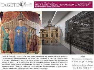 Tra tradizione e modernità: fondazione Burri a Città di Castello e la Madonna del Parto di Piero del