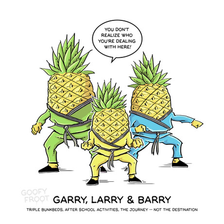 Larry, Barry and Garry