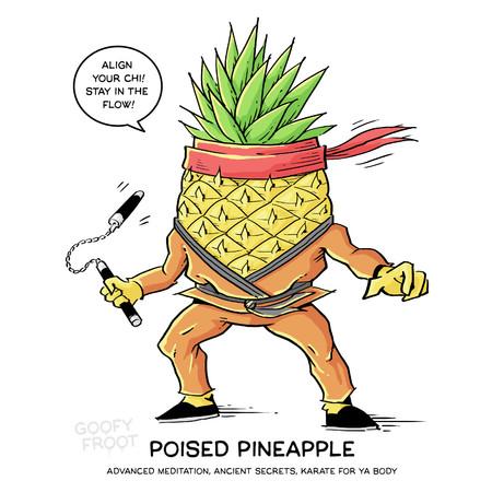 Poised Pineapple