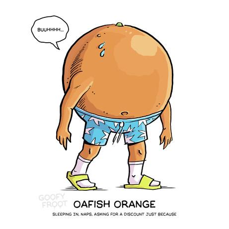 Oafish Orange