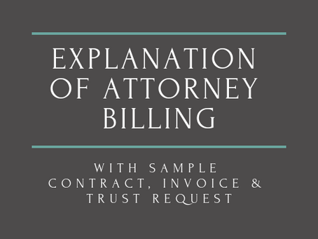 How Does Attorney Billing Work?