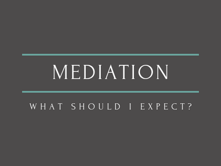 What to Expect at Mediation