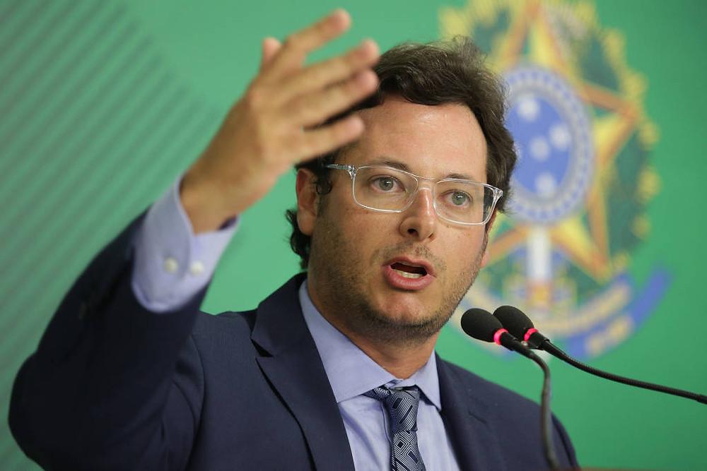 Chefe da Secom (Secretaria de Comunicação Social da Presidência da República)