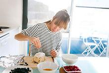 Woman Baking