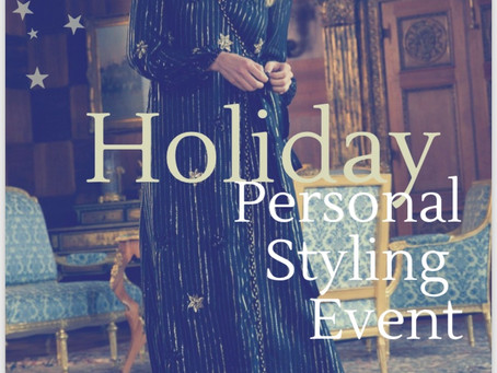 HOLIDAY STYLING EVENT FEATURING JADE ALLEN