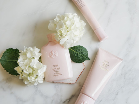 Fight flakes with Oribes Serene Scalp collection