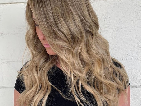 Summer to fall hair using extensions