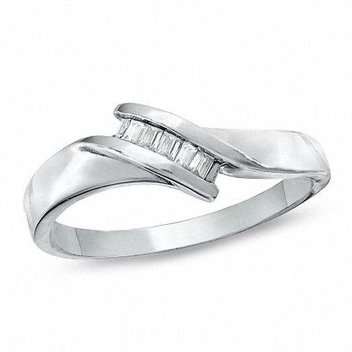 0.10 Ct. Baguette Diamond Ring
