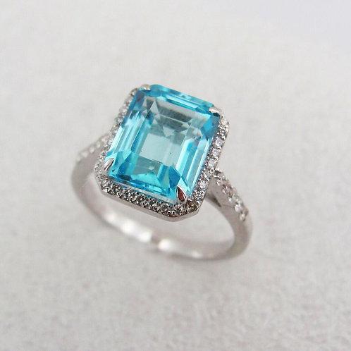 Diana Blue Sky Diamond Ring