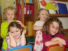 massage assis enfant