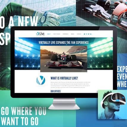 Virtually Live - Website